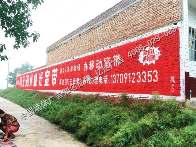 中国移动低墙手绘墙体广告.jpg